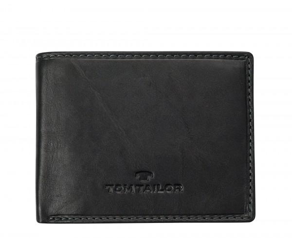 TOM TAILOR - Lary 14201 Geldbörse Leder Schwarz