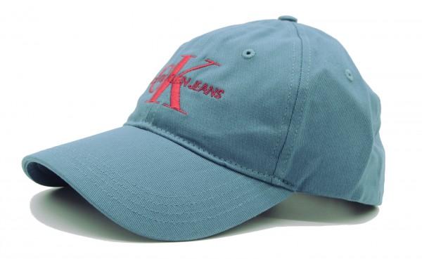 CALVIN KLEIN - Baseball Cap J Monogram GrauBlau