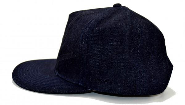 CALVIN KLEIN - Baseball Cap CK Denim Blau