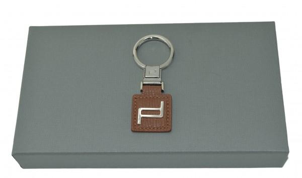 PORSCHE DESIGN - Schlüsselanhänger ICON P3420 Cognac