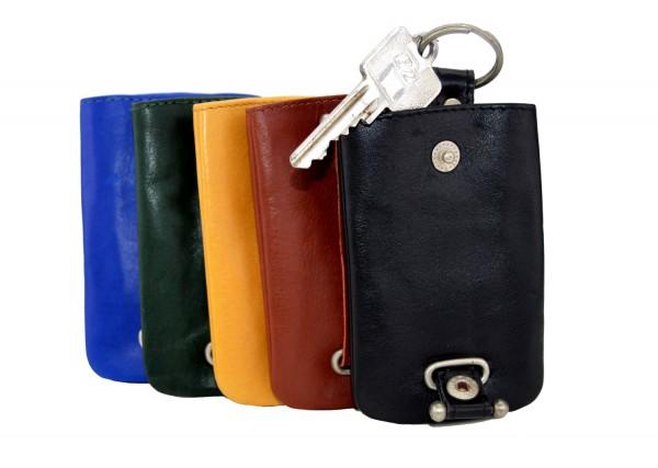 BRANCO - Schlüsseletui mit Zugband 013 Leder