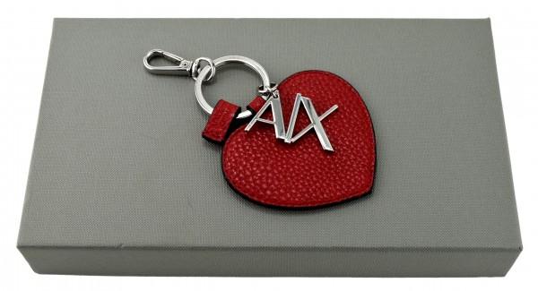 ARMANI Exchange - Schlüsselanhänger Herz Rot