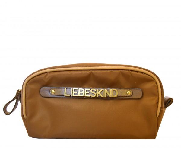 LIEBESKIND BERLIN - Kosmetiktasche LUBIA Braun 19 cm