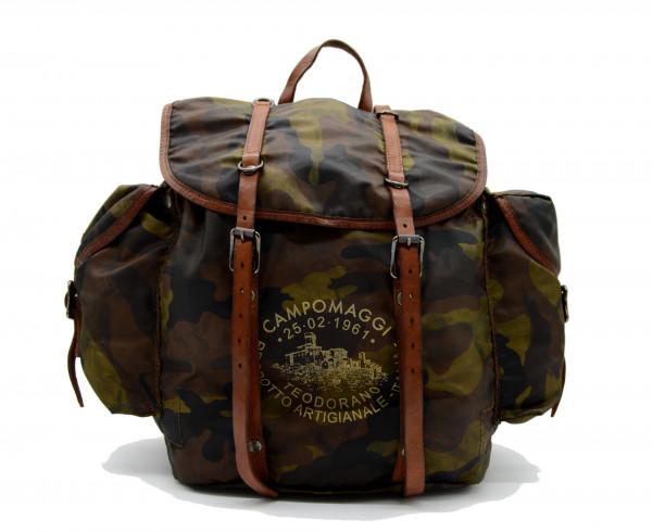 CAMPOMAGGI - Zaino C019530ND X0015 F1512 Rucksack Nylon Camouflage