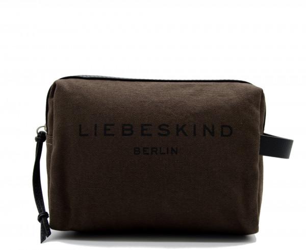 LIEBESKIND BERLIN - Kosmetiktasche Gray3 Canvas Braun