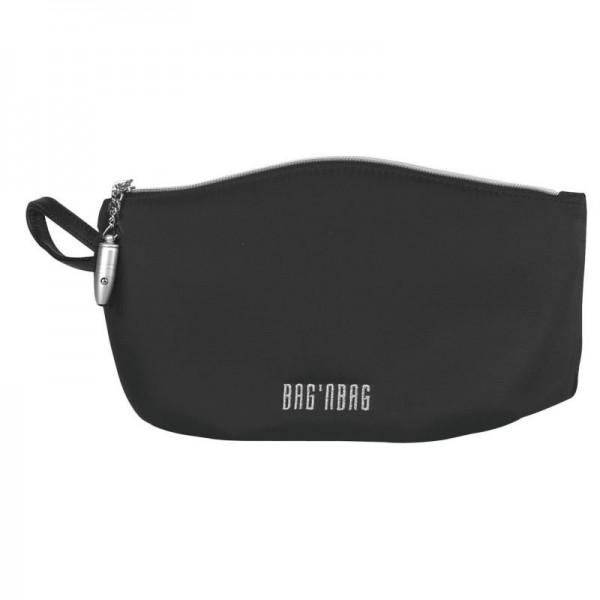 BODENSCHATZ - Switchbag Kosmetiktasche Schwarz 27 cm