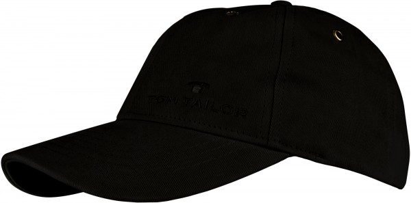 - TOM TAILOR - Basball Cap TS125 Schwarz