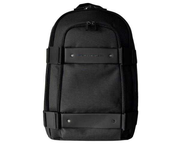 PORSCHE DESIGN - Cargon 2.5 M Rucksack mit Laptopfach Nylon Schwarz Grau