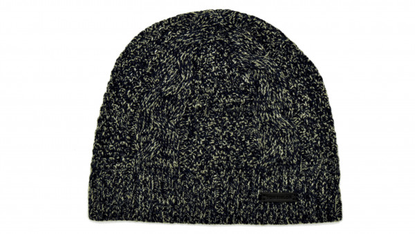 TOM TAILOR - Strickmütze Cable Structure Beanie GrauBlau