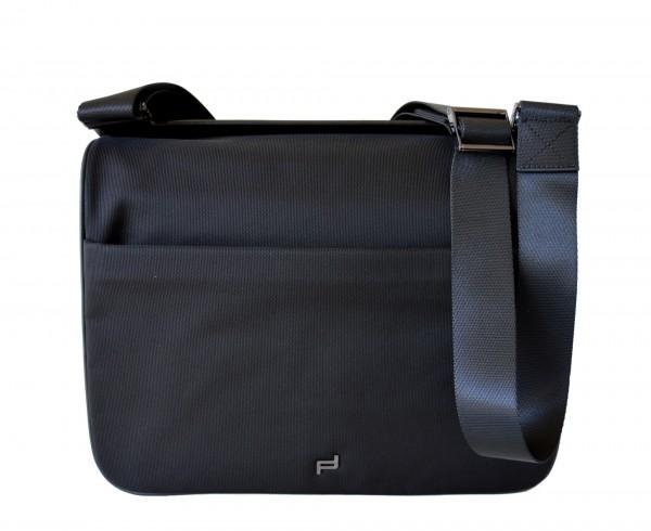 PORSCHE DESIGN - Shyrt MFH Umhängetasche mit Laptopfach Nylon Schwarz
