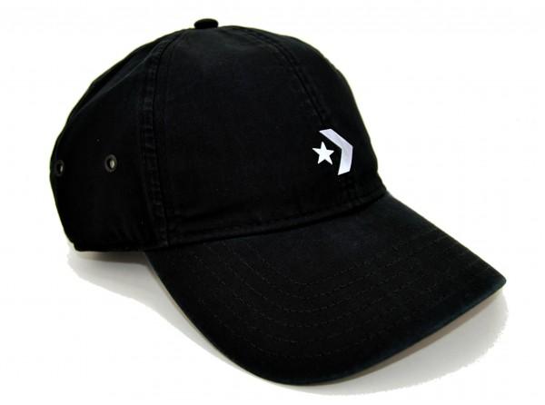 CONVERSE - Baseball Logo Cap Schwarz