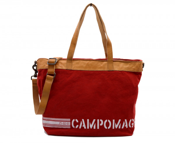CAMPOMAGGI - C020231ND-X1335-F4076 Shopper Canvas Rot